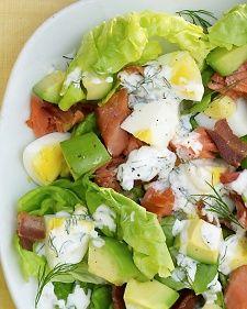 Smoked-Salmon Cobb Salad Recipe