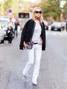 3 Casual and Carefree Outfit Ideas for Fall via @WhoWhatWear
