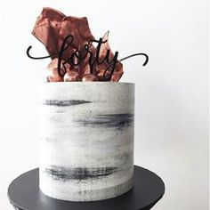Concrete-inspired cakes? Why not!  @donttellcharles #honeycombers #singapore #cake