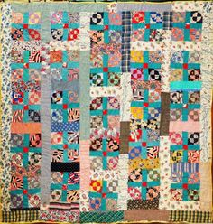 Historically Modern: Quilts, Textiles & Design: Vintage Quilts: Freeing Color