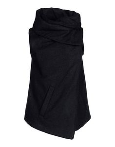 Ann Demeulemeester Sleeveless Jacket:  i am finding this folded fabric style used in a lot of designers' work. i love this. $1170.00