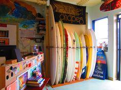 sunset shapers board rack