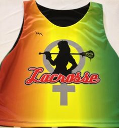 Girls Lacrosse Pinnies | Custom Girls Lacrosse Jerseys | Sublimated