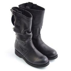 Stivale Vintage 940 low boot Black Bikkembergs Autunno inverno 2014 online su Oliviero Firenze. 264€