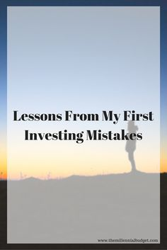 We were all beginners in the stock market at one point. I made many mistake when I ventured into stocks. Come and learn from them. #investing #stocks