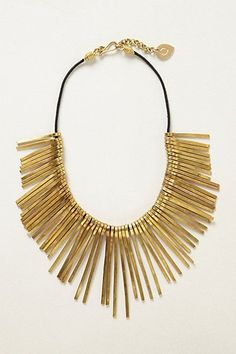 Bobby Pin Necklace - White Lights on Wednesday