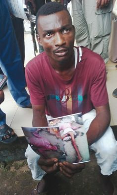 Photo: I Sacrificed Human Head Because Mad Woman Told Me To - Suspect