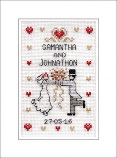 Wedding cross stitch card kit - First Dance | eBay