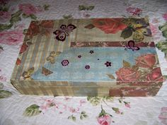 Photo 1 of Sold Enjoy It, Mixed Media, Decorative Boxes, Artsy, Romantic, Storage, Crafts, Home Decor, Purse Storage