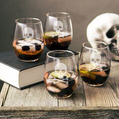 Wine Glasses: These elegant wine glasses are perfect for entertaining or a quiet…