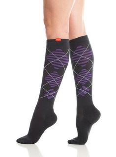 knee high compression socks by Vim & Vigr