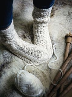Need to learn how to knit socks!