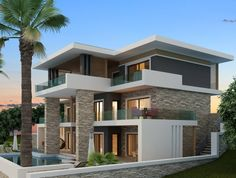 Ayvalık Villa - Balıkesir | Mimari proje.
