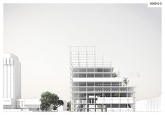 Honorable Mention - Library of Varna  Project by: PLUSR Chitecture, Greece