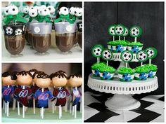 doces com o tema futebol