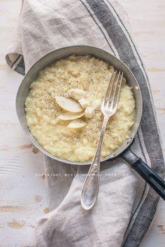 risotto pere e formaggio