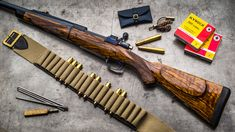 Westley Richards .505 Take Down Rifle
