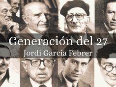 Esto es una presentación de la generación del 27.