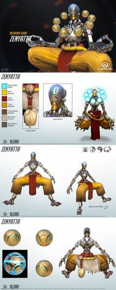zenyatta reference guide #cosplay #costume #game #ow