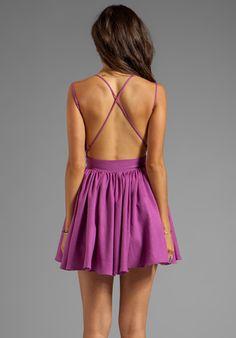 KEEPSAKE Perfect Stranger Dress in Boysenberry - keepsake