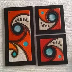 Pasta piedro, cement and clay mix Tile Art, Mosaic Art, Abstract Canvas, Canvas Wall Art, Mundo Hippie, Fused Glass Art, Wall Sculptures, Fabric Painting, Islamic Art