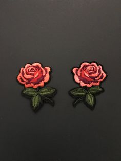 Iron on patch-Embroidery Patch-Gucci Style Patch-Patches-Rose Patch-Flower Applique-Flower Embroidery-Rose Embroidery-Gucci Inspired Patch by RUNWAYDIY on Etsy