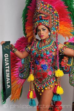 Miss Guatemala - Sara Guerrero  posing with  her National Costume as part of the activities. Miss Earth 2015 was held on 5 December 2015 at Marx Halle in Vienna, Austria. It was the first time the pageant was held in Europe and outside of Asia. It was also the first back to back victories in Miss Earth history: Angelia Ong of the Philippines crowned by Jamie Herrell of the Philippines. #NationalCostumes #MissEarth2015 #BeautyPageant #BeautiesForACause