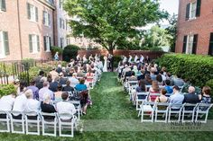 April Wedding in Bryan Courtyard.   Neil Boyd Photography.  The Carolina Inn.  UNC weddings.  UNC bride.  Raleigh weddings.