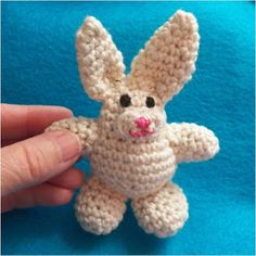 easter bunny free pattern
