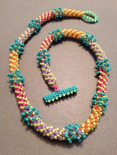 Summer Russian Spiral by BethStone on Etsy, $130.00