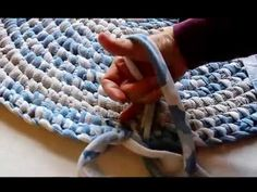 Four Eleven Rox: Using Jersey Knit to Make a Rag Rug