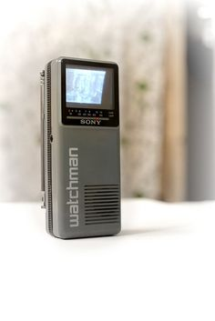 Sony Watchman FD-10 from 1987...we had this!
