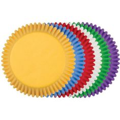 Bright and bold, this Rainbow assortment of solid color baking cups is perfect for any occasion and great for themed celebrations Use these colorful fluted paper baking cups for lining cavities of standard muffin pans, making festive cupcakes, presenting party snacks and more Colors: Red,... - http://kitchen-dining.bestselleroutlet.net/product-review-for-wilton-assorted-rainbow-standard-baking-cup-mega-pack-150-count/