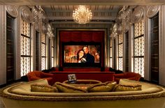 Art Deco Movie Theater