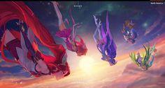 (Clip LMHT) Riot Games tung clip tuyệt đẹp đậm chất Anime về bộ skin Vệ Binh Tinh Tú | GameSao
