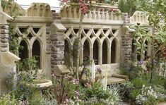Is It Wrong That I Want A Redstone Garden Folly In My Happy Place? Gothic