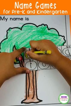 If you're looking for fun name games for your Pre-K or Kindergarten students, here are some really fun ones that are engaging and will have your early learners having fun while practicing their names! These name games can be used during circle time, as a literacy activity, or as a fun activity to help students feel comfortable during back to school. These are a must for any Pre-K or Kindergarten teacher looking to add another fun learning activity to their teaching resources.