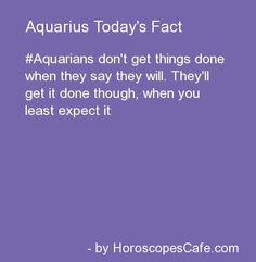 Aquarius Daily Fact