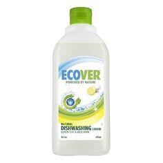 Ecover Natural Dishwashing Liquid, Lemon & Aloe Vera 16 fl oz (473 ml)