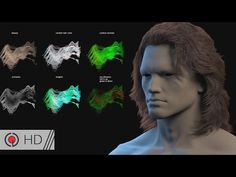 CG Hair Fur workflow in Houdini for VFX and Games | Saber Jlassi's GDC 2017 Presentation - YouTube