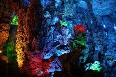 25 Truly Amazing Places You Must Visit Before You Die 8. Reed Flute Caves, China