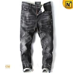 Enthusiastic New Designer Slim Fit Ripped Jeans Men High Street Mens Distressed Denim Joggers Knee Holes Zipper Washed Destroyed Pencil Jeans Men's Clothing