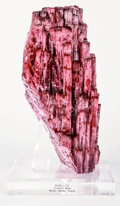 Watermelon Tourmaline / Large Tourmaline with Pocket / Large Rubellite. Find this and other collectibles at CuratorsEye.com.