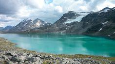 Hike from Gjendebu to Leirvassbu (21 km) in Jotunheimen NP - Norway