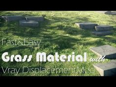 More at http://archvizcamp.com | Learn an easy and fast way of creating grass material with Vray and 3ds Max.   - Cursos y mas en: http://linformatik.es/blog/category/cursos/?lang=es