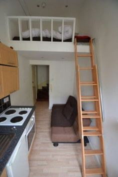 studio flat in London- so tiny but I absolutely love it!