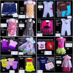 SEE ALL THIS CUTENESS for your little princess.  Free Shipping with $30 Purchase. START YOUR SHOPPING CART>> https://baby-girl-heaven.myshopify.com