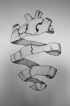 Dotted Heart by Francesco Bagnato, via Behance