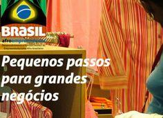 Portal da Prefeitura da Cidade de São Paulo | 10/02/2014 |  Seminário Estadual - Projeto Brasil Afro empreendedor Projeto visa combater o racismo e promover o desenvolvimento econômico dos empreendedores negros.