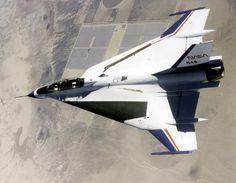 NASA's two-seat F-16XL #2